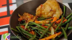 cuisiner des carottes la poele recette de poêlée de légumes haricots verts carottes oignons ail