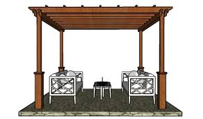 12x12 pergola plans howtospecialist how to build step by step