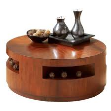 round wooden coffee table with drawers with inspiration hd