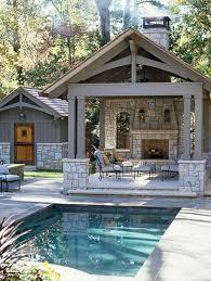 Backyard House Ideas Backyard Pool House Simple With Photos Of Backyard Pool Interior