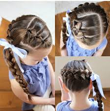 hairstyles using rubber bands beautiful braiding hairstyles for little girls archives blog