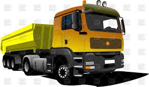 dump truck yellow dump truck side view vector image 56225 u2013 rfclipart