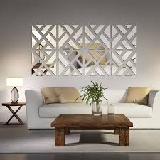decorations for home mirrored chevon print wall decoration wall decorations