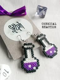 chemist earrings 205 best sylph designs etsy images on hama mini