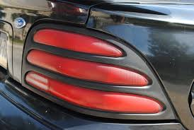 sn95 mustang tail lights curbside classic 1994 mustang the car that almost wasn t