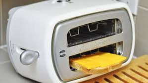 Toaster With Sandwich Cage Flip Your Toaster On Its Side To Make Easy Grilled Cheese Sandwiches