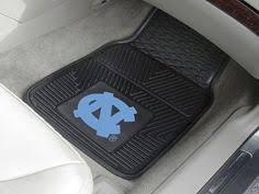 carolina tar heels 2 deluxe auto floor mats