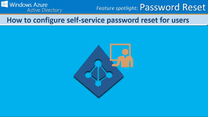 reset microsoft online services password to configure self service password reset for users in windows azure ad