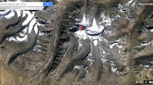 Maps Google Om Lord Shiva U0027s Mount Kailash View From Satellite Map In Google Earth