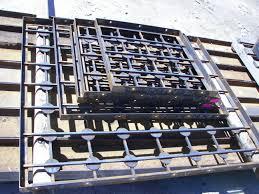 ornamental steel grilles builders supply
