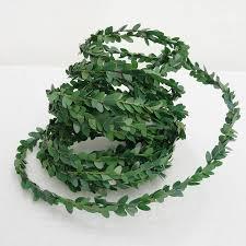 green boxwood garland by just add a dress notonthehighstreet