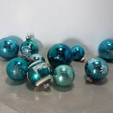 shop vintage shiny brite glass ornaments on wanelo