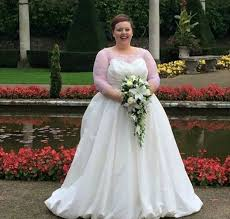 wedding dresses for plus size brides this created a beautiful celebration of plus size brides