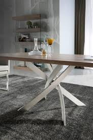 walnut dining table base porto lujo torrox modern walnut top dining table base in various