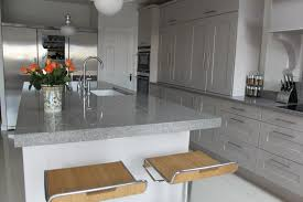 Kitchen Island Worktops Uk Awesome Neolith Iron Grey Kitchen Worktops With Single Sink And