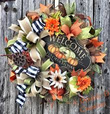 etsy thanksgiving decorations fall wreath fall front door fall door hanger thanksgiving