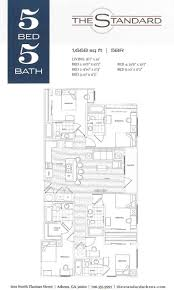 8 best the standard athens floor plans images on pinterest 3 4