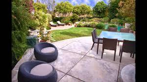 Patio Concrete Designs by Concrete Patio Ideas Home Art Design Decorations Youtube