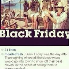 black friday originally referred to trade fiction