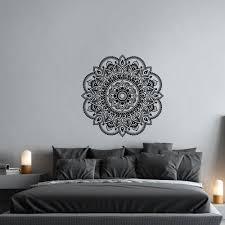 Om Wall Decal Mandala Vinyl by Mandala Vinyl Wall Decal Mandala Decal Yoga Wall By Homyvinyl