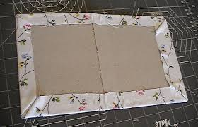 fabric photo album tutorial fabric covered photo album quilt in progress