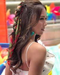 kathryn bernardo hair style kathryn bernardo has the most gorgeous summer hairstyles star