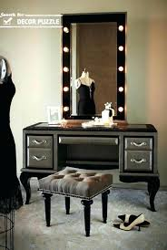 Lighted Bedroom Vanity Vanity Table With Lighted Mirror Vanity Set With Lights For