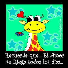 imagenes de amistad jirafas tarjeta de san valentin jirafa frasesytarjetas com