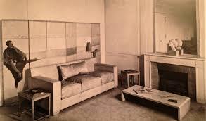 living room claire artaud u0027s flat 1936 design by jean michel