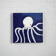 octopus ocean animal wall art the land of nod