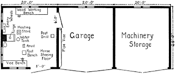 shop buildings plans machine shed with living quarters plans plans sheds easy