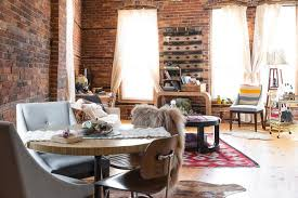revamped 1870s detroit apartment shows off vintage style curbed