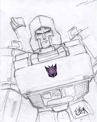 megatron coloring pages online coloring pages september 2009