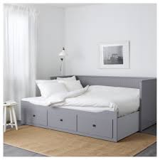 Ikea Hemnes Daybed Hemnes Day Bed W 3 Drawers 2 Mattresses Grey Malfors Firm 80x200