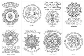 motivation u0026 mandalas coloring book inspiration for women