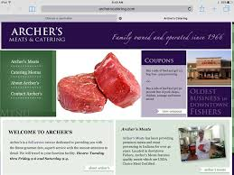 Indiana travel web images Archers meats and catering home facebook