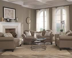 Traditional Sofas Living Room Furniture by Carnahan Sofa 505251 In Grey Fabric By Coaster W Options