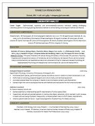 Anatomy Of A Data Analyst Resume Level Blog Laboratory Analyst Resume Sample