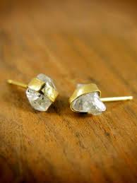 most beautiful earrings gold wrapped diamond post earrings these are the most
