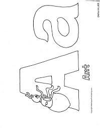 abc pre k coloring activity sheet letter a apple alphabet
