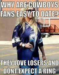 Cowboys Memes - football meme 004 dating cowboys fans comics and memes