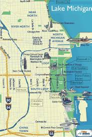 chicago tourist map maps update 7001148 tourist map of downtown chicago 15