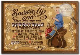 cowboy western birthday invitation cowboy western birthday