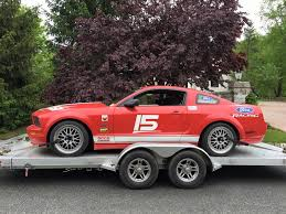 road race mustang for sale 2005 mustang gt spec iron iron aer road race car for sal