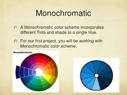 Monochromatic - monochromatic personal statement art