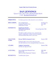 Students Resume Format High Student Resume Format It Resume Cover Letter Sample