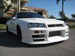 nissan skyline wide body kit real r32 grt with r43 widebody kit