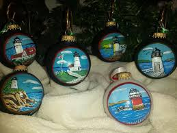 handpainted glass ornaments in maine picture of the
