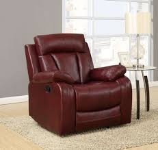 Leather Motion Sectional Sofa U97601 Sec Motion Sectional Sofa In Burgundy Pu