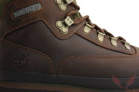 timberland mens classic leather euro hiker boots brown smooth
